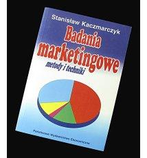 Badania marketingowe - metody i techniki