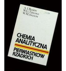 Chemia analityczna pierwiastków rzadkich