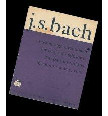 Inwencje dwugłosowe na fortepian - J. S. Bach