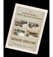 Katalog aukcyjny - V Krakowska Aukcja Pocztówek
