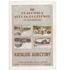 Katalog aukcyjny - III Krakowska Aukcja Pocztówek
