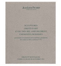 Katalog aukcyjny - Sculptures. Objets d'art et de très bel ameublement.