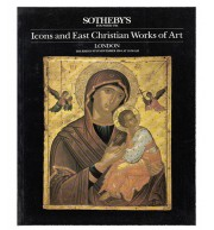 Katalog aukcyjny - Icons and East Christian Works of Art