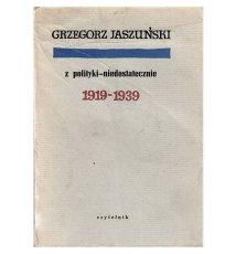 Z polityki - niedostatecznie, 1919-1939