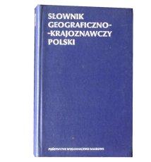 Słownik geograficzno-krajoznawczy Polski + mapa