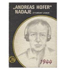 Andreas Hofer nadaje