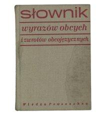 Słownik wyrazów obcych i zwrotow obcojęzycznych