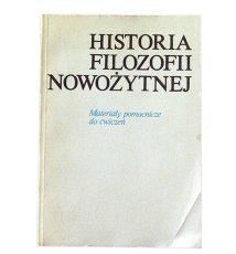 Historia filozofii nowożytnej. Materiały pomocnicze do ćwiczeń