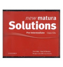New Matura Solutions Pre-Intermediate Class Audio CD