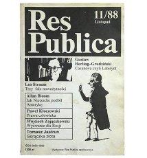 Res Publica 11/88