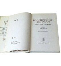 Bogarodzico - Dziewico Polski Almanach Maryjny