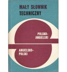Mały słownik techniczny polsko-angielski, angielsko-polski