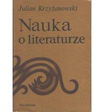Nauka o literaturze