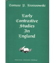 Early Contrastive Studies in England, 15th-18th centuries