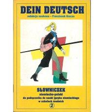 Dein Deutsch : słowniczek niemiecko-polski 2