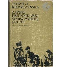 Zapiski dziennikarki warszawskiej 1939-1947