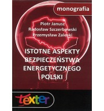 Istotne aspekty bezpieczeństwa energetycznego Polski