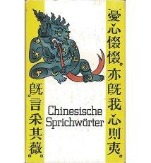 Chinesische Sprichwörter