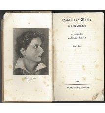 Schillers Werke in drei Bänden. Erster Band