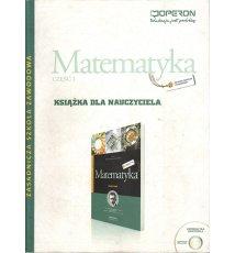 Matematyka, cz.I. Książka dla nauczyciela