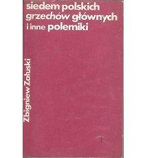 Siedem polskich grzechów głównych i inne polemiki