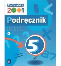 Matematyka 2001 - 5. Podręcznik +CD