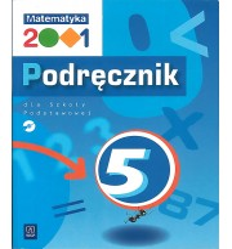 Matematyka 2001 - 5. Podręcznik