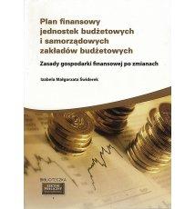 Plan finansowy jednostek budżetowych i ...