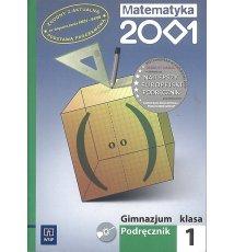 Matematyka 2001. Gimnazjum 1+CD
