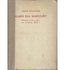 Alarm dla Warszawy