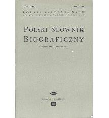 Polski Słownik Biograficzny, Tom XXXV/2