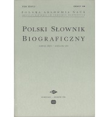 Polski Słownik Biograficzny, Tom XXXV/3