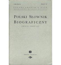Polski Słownik Biograficzny, Tom XXXV/4