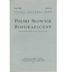 Polski Słownik Biograficzny, Tom XXXII/3