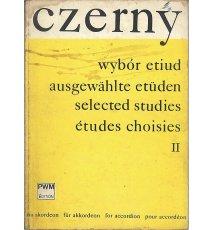 Czerny. Wybór etiud II - na akordeon