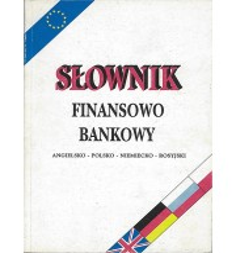 Słownik finansowo bankowy