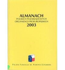 Almanach polskich pozarządowych organizacji proeuropejskich