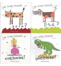 Jak narysować kota? (psa, księżniczkę i dinozaura)