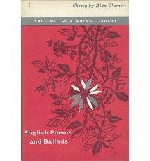 English Poems and Ballads