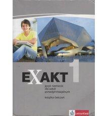 Exakt 1. Język niemiecki. Książka ćwiczeń