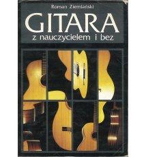 Gitara z nauczycielem i bez