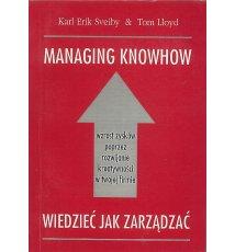 Managing knowhow - Wiedzieć jak zarządzać