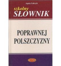 Szkolny słownik poprawnej polszczyzny