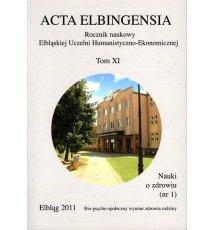 Acta Elbingensia - Tom XI/ 2011