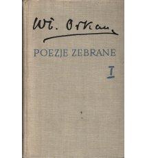 Orkan Władysław - Poezje zebrane, tom I