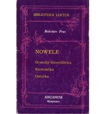 Prus Bolesław - Nowele