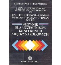 Słownik dla uczestników konferencji międzynarodowych