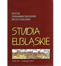 Studia Elbląskie, tom XVI, 2015