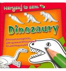 Dinozaury. Narysuj to sam