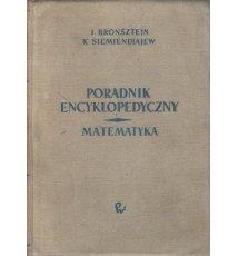 Poradnik encyklopedyczny. Matematyka